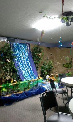 Jungle Safari Craft Room