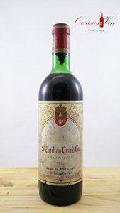OccasionVin – Vin 1972 Saint Emilion Grand Cru Union ELA
