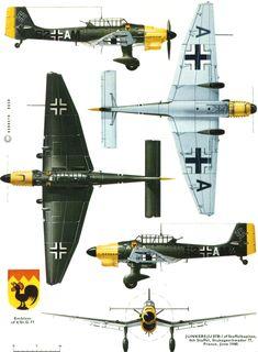Junkers Ju 87B-2, 4./Stukageschwader 77, France June 1940