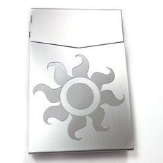 MLP Celestia Silver Slim Cigarette Business Card Pocket Case BUS-0416