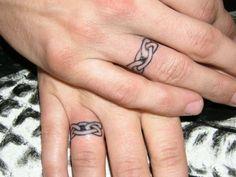 3d ring finger tattoos - http://tattooideastrend.com/3d-ring-finger-tattoos/ -