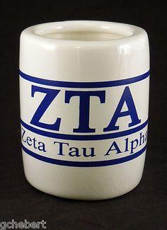Zeta Tau Alpha Sorority Greek Letter/Name Kool Kan Koozie  available in Good Things From Louisiana, an ebay store.
