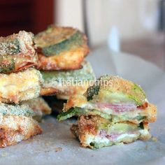 sandwich di zucchine al forno