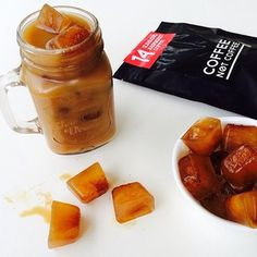 Follow us on Instagram @coffeenotcoffee www.coffeenotcoffee.com.au green coffee + african mango coffee + raspberry ketone coffee iced coffee