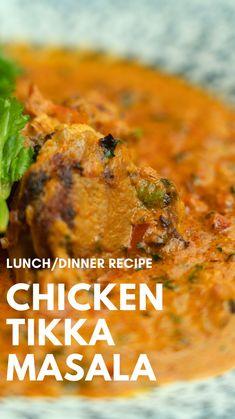 Tandoori Recipes, Veg Recipes, Spicy Recipes, Curry Recipes, Indian Food Recipes, Dinner Recipes, Cooking Recipes, Vegetarian Snacks, Chicken Tikka Masala