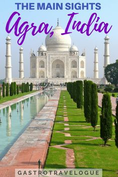 I had no idea when I headed out to see the Taj Mahal that there were other fascinating things to do in Agra. Here's a guide of what to do in Agra so that you can plan your visit. India Travel Guide, Asia Travel, New Delhi, Ursula, Goa, Cool Places To Visit, Places To Travel, Amazing Destinations, Travel Destinations