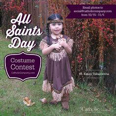 2015 All Saints Day Costume Contest at The Catholic Company Saint Costume, Catholic Kids, Roman Catholic, Fall Harvest Party, Liturgical Seasons, Saint Feast Days, Costume Contest, Costume Ideas, Catholic Pictures