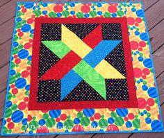 Woven Ribbon Star Quilt