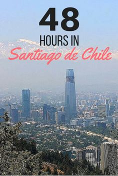 Only got 48 hours in Chile's booming capital? No worries, I've got you covered! I am sharing how to best spend two days exploring Santiago's neighborhoods, markets, museums and pa… Ecuador, Peru, Travel Route, Easter Island, South America Travel, Exterior, Travel Advice, Travel Tips, Trip Planning