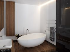 Gallery of Draw Inspiration From These 21st Century Bathroom Designs - 16
