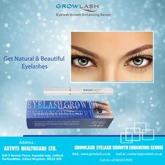 Get #Natural & #Beautiful #Eyelashes
