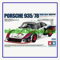 Tamiya Model Kit Porsche 935/78 Moby Dick 'Martini' FF00351 - http://tokoritrel.blogspot.com/2013/09/tamiya-model-kit-porsche-93578-moby.html#.Uj25rNKBlII