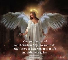 Your Guardian Angel, Angels In Heaven, Spiritual Quotes, Mystic, The Secret, Spirituality, Healing, Artwork, Life
