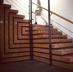 Stairs design architecture carlo scarpa 43 ideas for 2019 Carlo Scarpa, Interior Stairs, Interior Exterior, Exterior Design, Stairs Architecture, Architecture Details, Interior Architecture, Stair Detail, Stair Handrail
