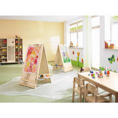 Kindergarten waldb ttelbrunn innenaufnahme garderobe for Raumgestaltung tipps