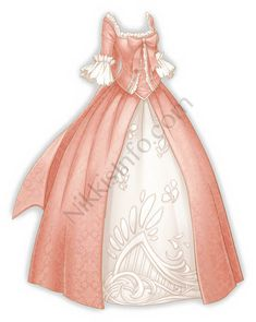 Actually, Nikki learned ballet when she was a kid. She should have a graceful posture. Pretty Outfits, Pretty Dresses, Beautiful Outfits, Fashion Design Drawings, Fashion Sketches, Anime Outfits, Fashion Outfits, Fantasy Gowns, Anime Dress