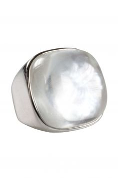 Perlmutt Ring Sterling Silber