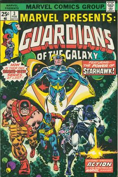 Marvel Presents 3 Guardians of the Galaxy Marvel comics group