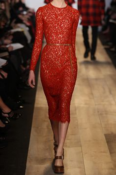 "Amazing Michael Kors Sequined lace dress.  I'd say ""must-have""... but it's $10,000..."