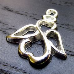 10PCs Angel With Halo Wholesale Silver Plated Pendant Charms - C3895