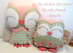 Corujas Disponíveis Apostila Corujas Decorativas Artes em Feltros R$23,90