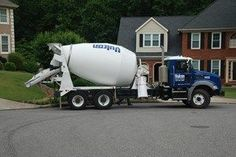 How to Buy Concrete and Rent a Ready Mix Truck Ready Mixed Concrete, Mix Concrete, Concrete Mixers, Footing Foundation, Deck Footings, Fence Gate, Building A Deck, Home Repairs, Cool Things To Make