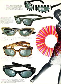 These were some of our sunglasses from 1966. We don't do zebra glasses anymore, but we're still at the forefront of sunwear tech. Learn more at://bit.ly/1TaOL6c #ZEISS