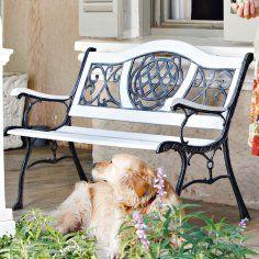 Gartenbank im Impressionen Online Shop