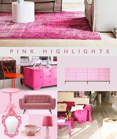 Para o outubro rosa inspire-se com uma decoração rosa. A Revista Westwing mostra as ações ao combate do câncer de mama e ideias para decorar com a cor.