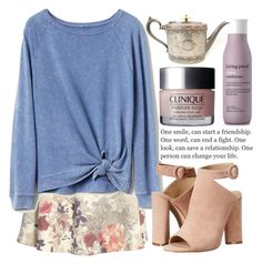 """106"" by erohina-d ❤ liked on Polyvore featuring beauty, H&M, Gap, Kendall + Kylie, Clinique and Living Proof"