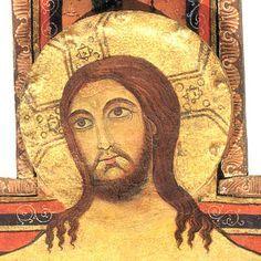 Descripción del icono del crucifijo de San Damián