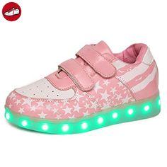 [Present:kleines Handtuch]Rose EU 36, Kinder JUNGLEST® Fluorescence Sneakers Sportsschuhe Jungen weise Lig