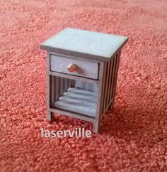 1:24 poppenhuis nachtkastje voor het van melissasminiwereld op Etsy