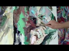 Stille Wasser - abstract acrylic painting - YouTube
