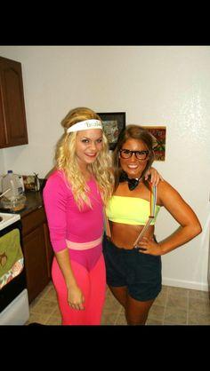 DIY halloween costume college. Nerd , workout Barbie