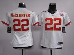 c3d96fb572646 Women s Nike NFL Kansas City Chiefs  22 Dexter McCluster White Jerseys