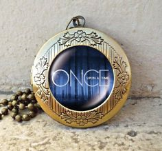 Once Upon A Time Inspired Glass Dome Necklace  Once Upon A Time vintage pendant locket necklace on Etsy, $12.99