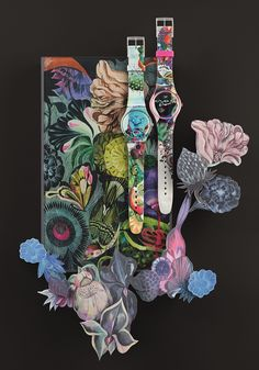 WANT! Olaf Hajek limited edition SWATCH.