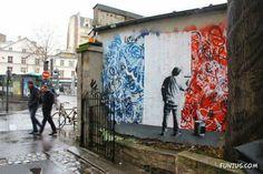 http://lespapierscolles.wordpress.com/2013/03/05/martin-whatson/ #streetart Martin Whatson