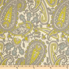 Paisley Boteh Fabric yardage Henna Premier Prints by FabricSecret, $10.35