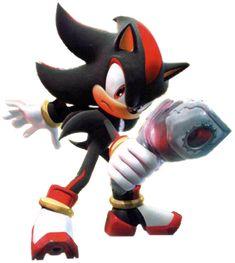 Shadow The Hedgehog — With Gun - Shadow the Hedgehog - Gallery ...