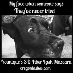 Say WHAT??? #3dmascara #magicmascara #younique #oregonlashes #miraclemakeup #mineralmakeup #allnatural #amazing #waterresistant #hypoallergenic #removeseasily #yougottaseeittobelieveit #mascara #miracle #extremeresults