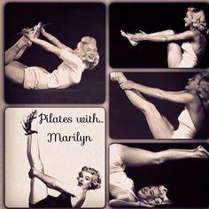 Marilyn loved Pilates!