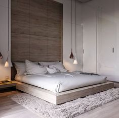 44 Stunning Minimalist Modern Master Bedroom Design Best Ideas is part of Minimalist bedroom design - Would you like to design the perfect modern master bedroom Do you find that you have plenty of space to […] Modern Bedroom Design, Master Bedroom Design, Contemporary Bedroom, Dream Bedroom, Master Bedroom Minimalist, Master Bedrooms, Bedroom Interior Design, Modern Contemporary, Interior Ideas