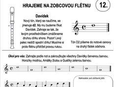 Škola hry na zobcovou flétnu – LEKCE DVANÁCTÁ – Dětské stránky