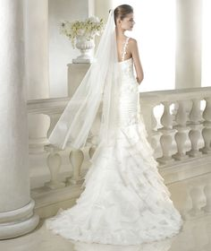 Sixte wedding dress from the Dreams 2015 - St Patrick collection | St. Patrick