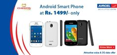 500 MB Aircel Data per month for 3 Months Free + 100 Aircel to Aircel Local minutes per month for 3 months http://goo.gl/nMfTTw