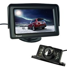 """Buyee 4.3"""" TFT LCD Rear view Monitor and Night Vision Car Reverse Backup Camera+LED Car Rear View Reverse Reversing Waterproof Colour Video Camera Kits - For Sale Check more at http://shipperscentral.com/wp/product/buyee-4-3-tft-lcd-rear-view-monitor-and-night-vision-car-reverse-backup-cameraled-car-rear-view-reverse-reversing-waterproof-colour-video-camera-kits-for-sale/"""