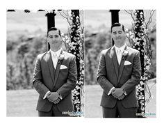 Calgary Wedding Photography by Carolyn Budreski Photography Inc. Grooms First Reaction, Professional Photography, Real Weddings, Photo Ideas, Wedding Photos, Wedding Photography, Poses, Bride, Unique