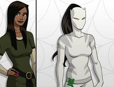 Ava Ayala a.k.a. White Tiger from Ultimate Spider-Man. -- Munchkin wants a toy of her. (Sooo impossible to find!)
